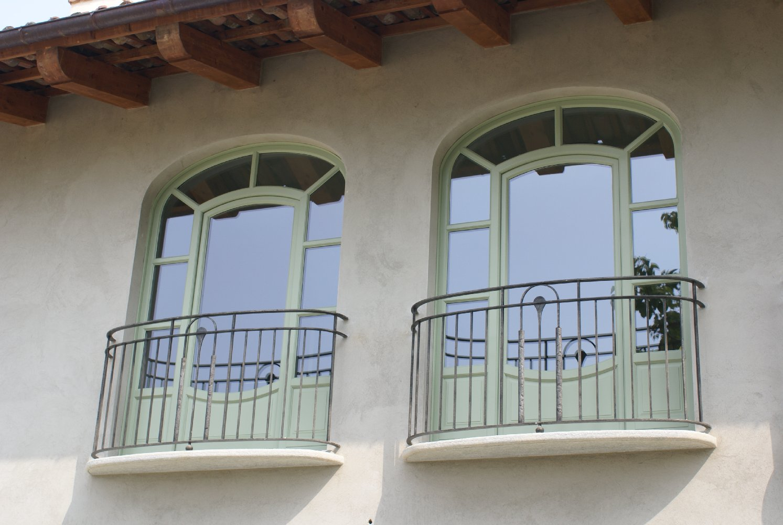 infissi vetro legno