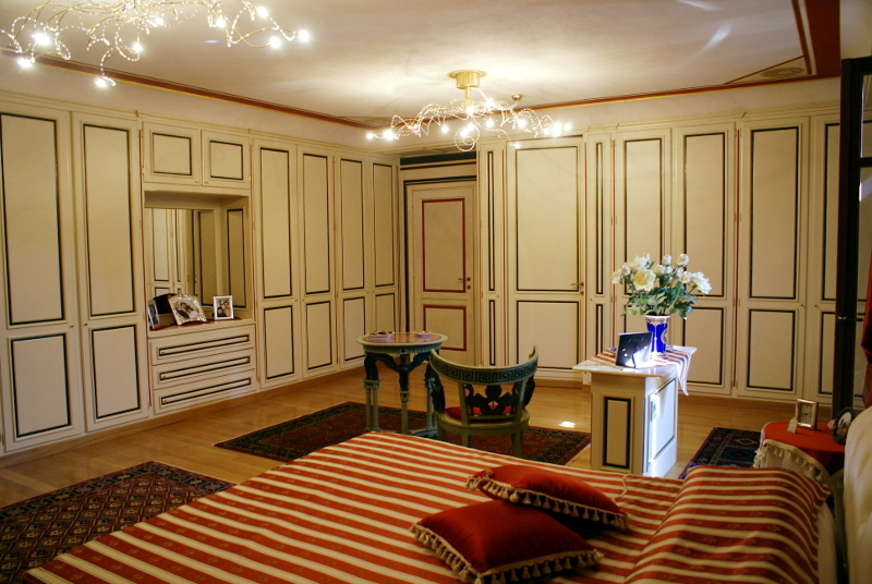 camera letto bianca